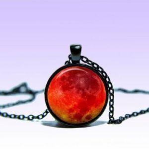 ~ Mystic Blood Moon Pendant ~
